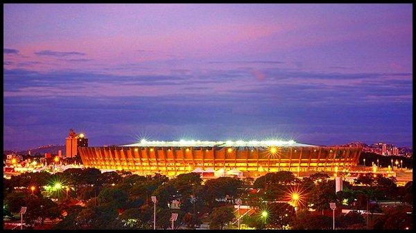 Les stades : Estadio Mineirao à Belo Horizonte