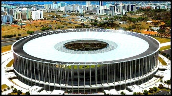 Les stades : Estadio Nacional à Brasilia