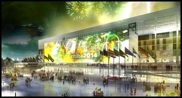 Les stades : Arena da Baixada à Curitiba