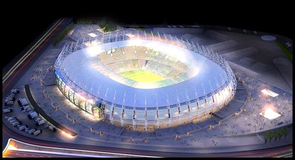 Les stades : Estadio Castelao à Fortaleza