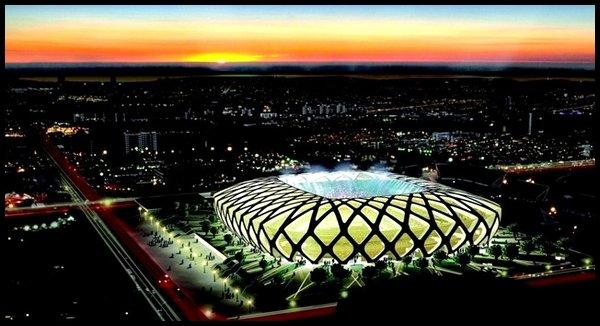Les stades : Arena Amazonia à Manaus