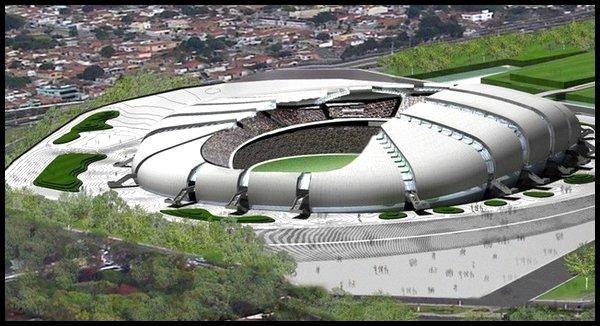 Les stades : Estadio das Dunas à Natal