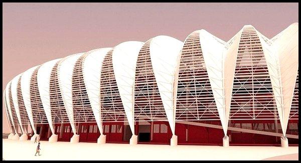 Les stades : Estadio Beira-Rio à Porto Alegre