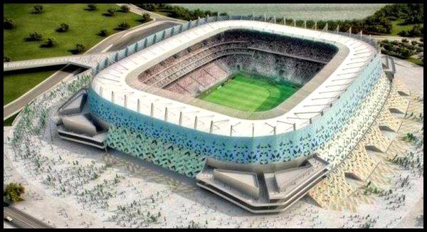 Les stades : Arena Pernambuco à Recife