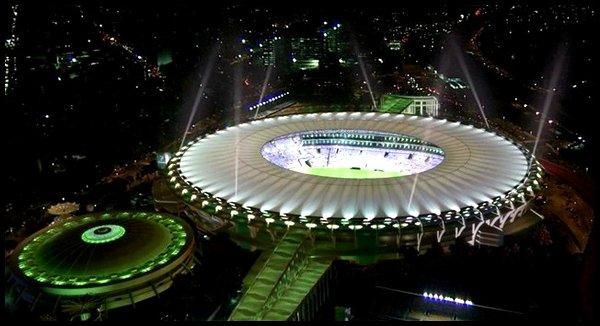 Les stades : Estadio do Maracana à Rio de Janeiro