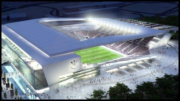 Les stades : Arena Corinthians à Sao Paulo