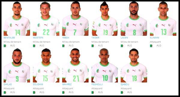 Groupe H : Algérie