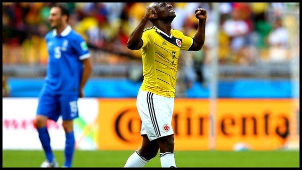 Samedi 14 Juin : Colombie - Grèce 18h