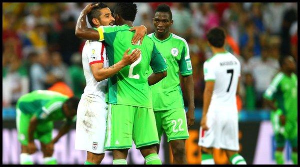 Lundi 16 Juin : Iran - Nigeria à 21h