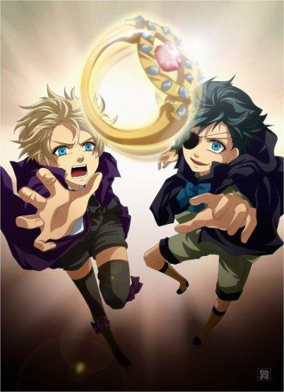 Black Butler ( Kuroshitsuji ) : Alois Trancy et Claude Faustus