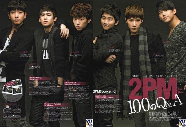 """News du 24/01/2012 >  Le groupe dans le magasine """"Ray"""" :"""