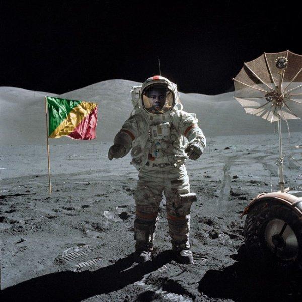 un tour sur la lune