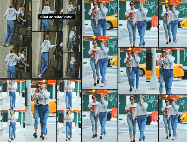- 16.07.17 ─ Notre Gigi Hadid est photographiée alors qu'elle revenait son appartement dans les rues de New York.[/s#00000ize]Gigi est donc enfin de retour à New York, finie les petite vacances sur l'Etat Californien ! Elle n'était pas vraiment d'humeur à croisé les pappz ! Un flop !! -
