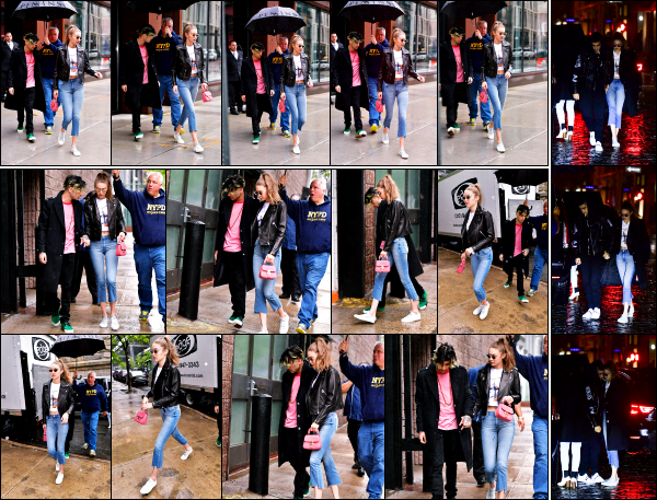 - 14.05.17 ─ Notre Gigi Hadid est photographiée alors qu'elle quittait son appartement dans les rues de New York ! [/s#00000ize]C'est en compagnie de son amoureux, Zayn que Gigi sortait ce jour là. On les retrouve également dans les rues de New York et plus tard dans la soirée.   -
