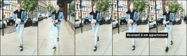 - 25.05.17 ─ Notre ravissante Gigi' Hadid est photographiée alors qu'elle se promenait dans les rues de New York ! [/s#00000ize]C'est toujours en compagnie de sa mère que nous retrouvons Gigi, plus tard dans la journée. Dans la soirée, elle est aperçue, rejoignant son appartement -