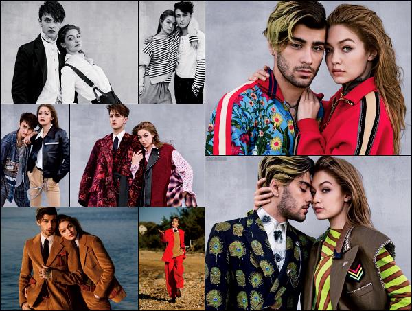 """"""" • Gigi Hadid a réalisée un nouveau shoot pour « Vogue US » édition du mois d'aout ! • -"""
