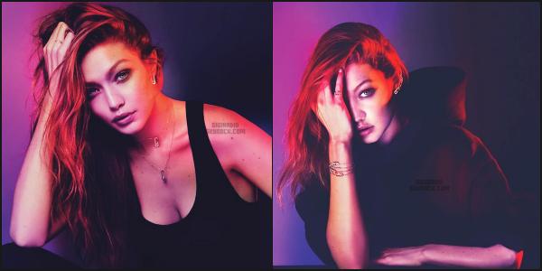 """"""" • Notre Gigi Hadid est le nouveau visage de la marque française de bijoux « Messika »  ! -"""