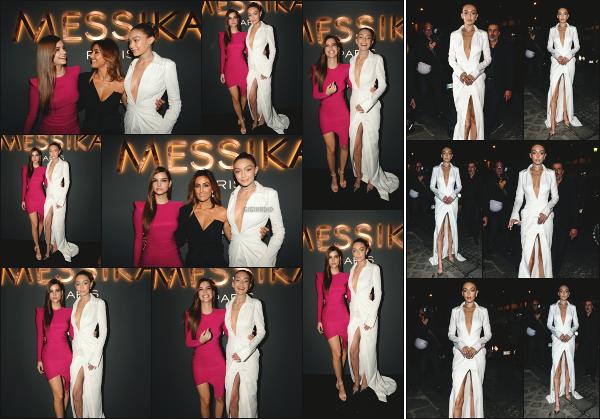 - 27.09.17 ─ Notre Gi Hadid était présente au lancement de la nouvelle collection de la marque « Messika » à Paris ![/s#00000ize]Gigi portait très jolie robe blanche qui sait mettre ses atouts en valeur je trouve! Plus tard, c'est en quittant l'évènement qu'elle a été photographiée. Top -