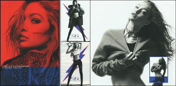 """"""" • Gigi Hadid est présente dans le magazine « Instyle » du mois d'octobre en Allemagne -"""