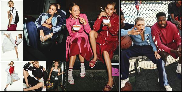""""""" • Gigi Hadid est présente dans le magazine « Vogue » du mois de novembre aux USA ! -"""