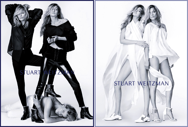 """ • La belle Gigi Hadid pose pour « Stuart Weitzman » collection printemps/été 2018 ! -"
