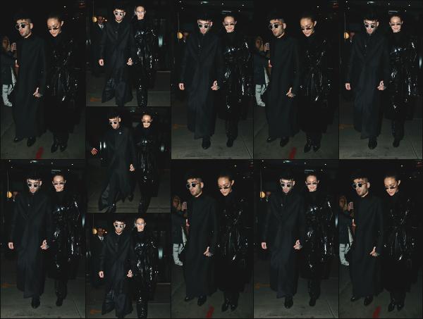 - 12.01.18 ─ Notre Gigi Hadid est photographiée alors qu'elle quittait son appartement dans les rues de New York ! [/s#00000ize]Gigi et son petit ami Zayn font leur apparition devant son appartement ! Ca faisait quelques temps que nous les avions pas vu ensemble ! C'est un flop ! -