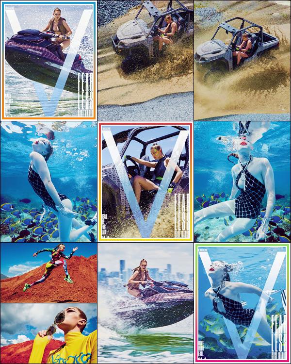 - '-SHOOT ●- Gigi Hadid prend la pose pour le « V Magazine » à l'occasion de l'édition d'automne ! -