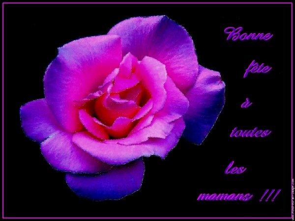 Bonne fête à toutes les mamans du monde  (l) (l)