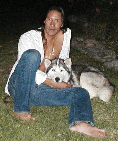 Rick  et le Husky (l) (l) (l)