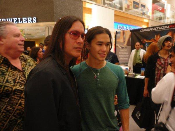 Rick Mora & BooBoo Stewart (l) (l) (l)