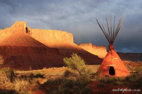 Amérindienne,paysage (l) (l) (l)