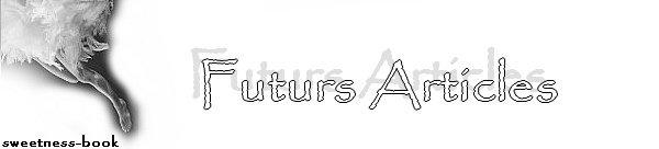 Ƹ̵̡Ӝ̵̨̄Ʒ Futurs Articles Ƹ̵̡Ӝ̵̨̄Ʒ Ƹ̵̡Ӝ̵̨̄Ʒ Pile à Lire Ƹ̵̡Ӝ̵̨̄Ʒ Ƹ̵̡Ӝ̵̨̄Ʒ Nouvelles Arrivages Ƹ̵̡Ӝ̵̨̄Ʒ
