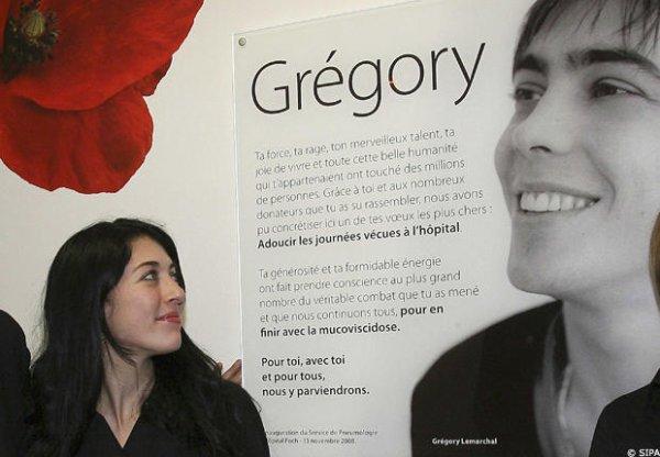 Nolwenn Leroy soutient l'association Grégory Lemarchal.