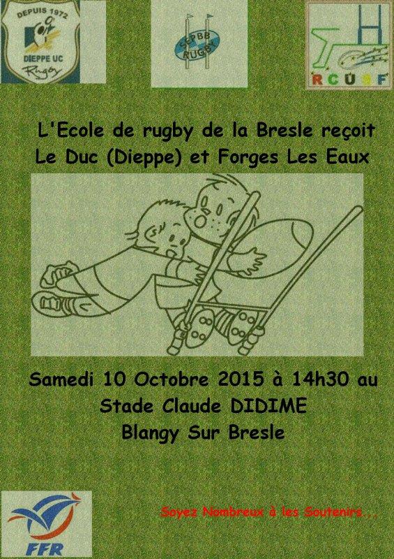 Tournoi de L'Ecole de Rugby de la Bresle
