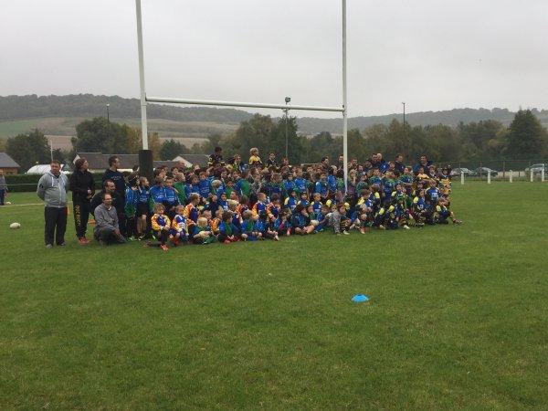 Tournoi de L'Ecole de Rugby de la Bresle... Le Résultat...