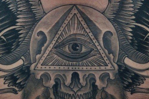 Tatouage Illuminati Find Your Jesus