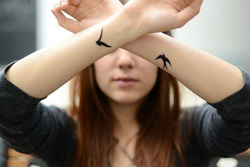 @ Tatouage , oiseaux.