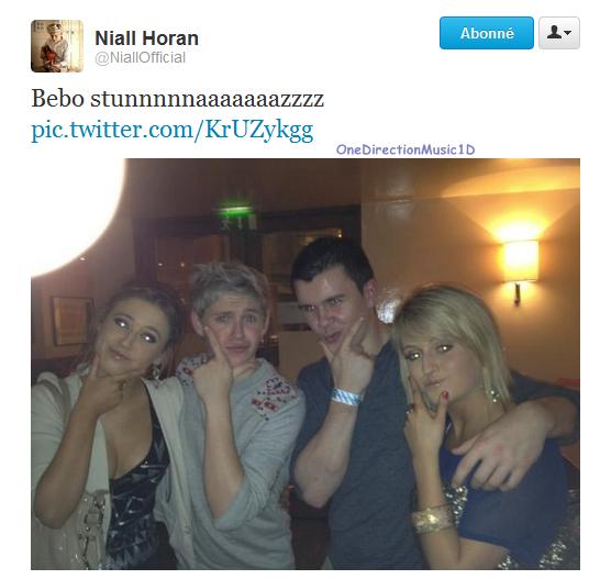 Danse irlandaise par Niall après une demande par tweet sur scène ! ( Vidéo + Photo) + Via Twitter