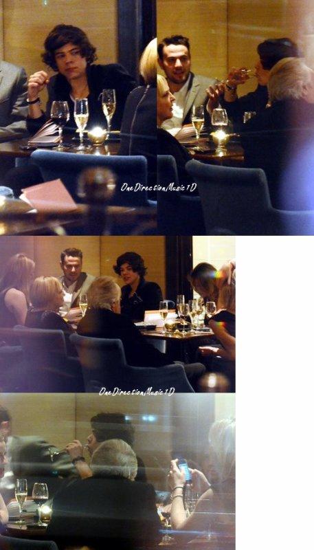 Les boys au Grand Journal + Harry au bar du Westbury Hotel à Londres - 22-02-12 + ) Un extrait de la boite à quesions
