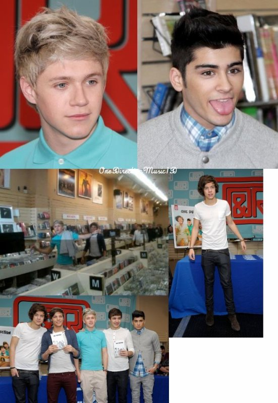 Via Twitter + Vous vous rappeler de ca ? :P + Zayn a 2 millions de followers sur Twitter!  + One Direction vous apprend à parler britannique - VOSTFR +Séance de dédicace à New-York - 12-03-2012