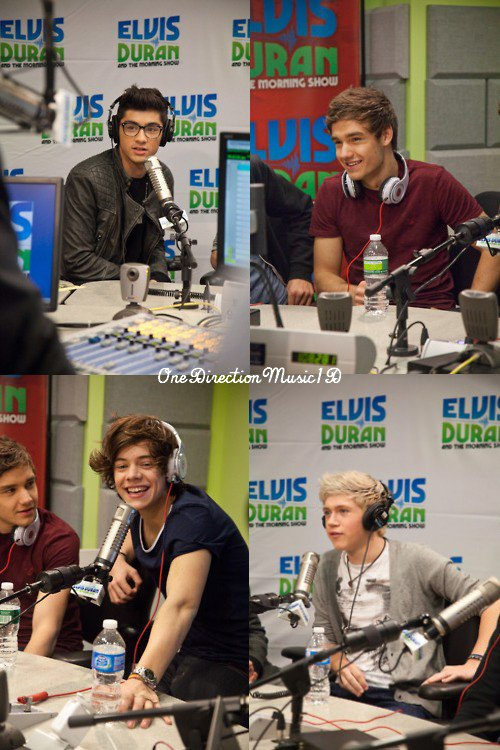 14Mars2012 : Interview avec Elvis Duran + Spin the Harry épisode 2