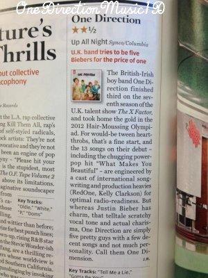 Britain Got Mare Talent ont appelé Harry + Les garçons au Starbuck à LA - 01-04-2012 + Magazine Rolling Stones - Avril 2012 + Via Twitter + Performance au théatre El Rey - 01-04-2012