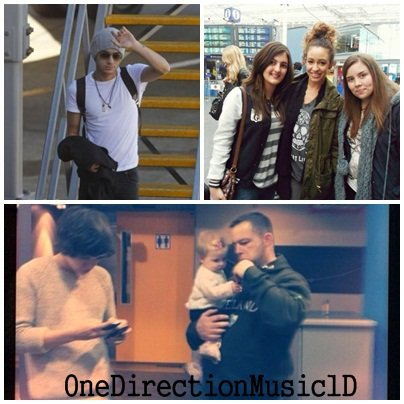 Photo: Zayn arrivant à Wellington, Nouvelle-Zélande le 22/04/12. Photo: Harry & Baby Lux Photo: Danielle & des fans hier. Video: Harry râpant au concert à Auckland - 21-04-2012