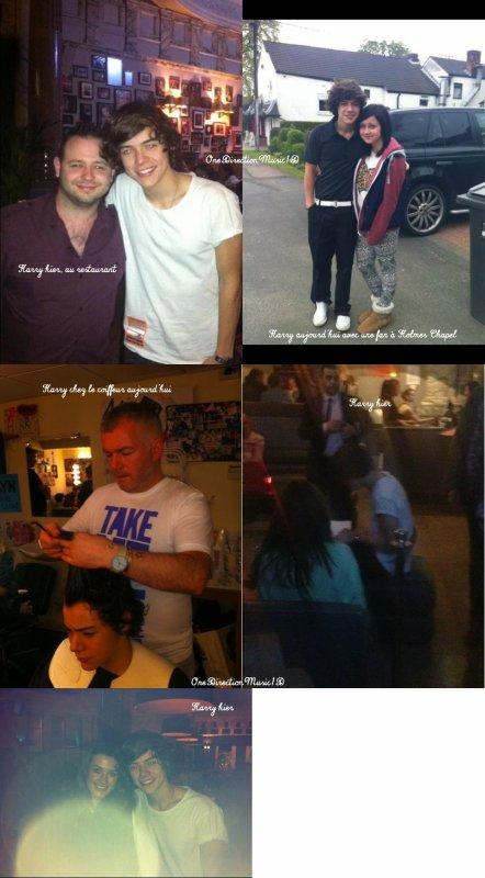Niall et sa maman,Niall et des fans aujourd'hui,Niall aujourd'hui, avec une mamie fan, Niall hier avec des amis et Niall probablement hier + Liam avec une fan aujourd'hui +Harry chez le coiffeur aujourd'hui,Harry hier,Harry hier, au restaurant et Harry aujourd'hui avec une fan à Holmes Chapel + Louis hier + Niall et une amie aujourd'hui +  Les magazines font parfois de grosses erreurs... + One Direction Confession : Harry Styles + News