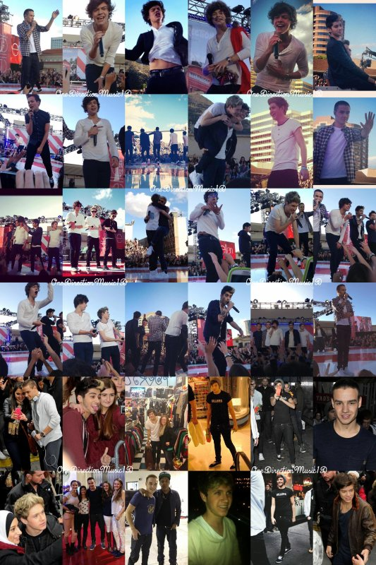 "Les boys dans YOU magazine - 2012 + x Factor au Royaume-Uni; 10 Novembre 2012 (pré-enregistrée) + PARADE Magazine - Christmas photoshoot - 2012. + 11 Nov., Liam et Louis se sont amusés à saluer les fans, Louis leur à lancer un sandwich + Les boys au Ellen Show - 9 Novembre 2012. + Les boys à New York City - November 2012. + Les boys à ""TODAY SHOW"" ; 13 Novembre 2012 + Les boys en UK ; Novembre 2012 + NEWS / RUMEURS / LIENS / VIDEO ..."