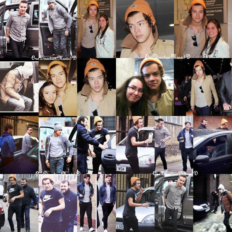 Harry chez British GQ événement à Londres - 9 Janvier 2013.+ Louis & Liam à l'aéroport Heathrow à Londres, Royaume-Uni - 4 Janvier 2013  + 7 Janvier 2013 + 10 Janvier 2013 +  Miley au lit avec Harry + Hahaha + Joyeux Anniversaire ZAYN ! + NEWS / RUMEURS VIDÉO ...