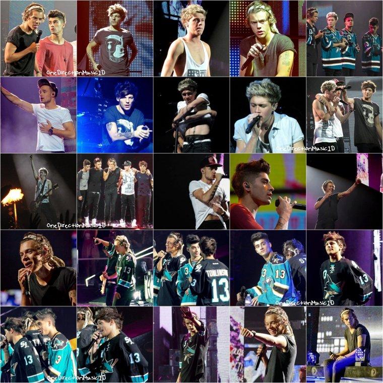 Les boys à Monterey, Californie - 29 Juillet 2013 + TMHT à San Jose, Californie - 30 Juillet 2013 + TMHT à Oakland, Californie - 31 Juillet 2013 + TMHT à Las Vegas, Nevada - 2 Août 2013 + TMHT à Las Vegas, Nevada - 3 Août 2013 + Les boys à Las Vegas, Nevada - 1-2-3 Août 2013 +