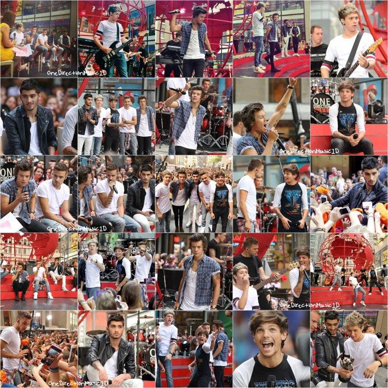 Zayn & Niall - Heathrow - 22 Août 2013 + Les boys au the Today Show - New-York City - 23 Août 2013 + Photoshoot pour Our Moments + Interview des boys pour This Is Us - New-York - 24 Août 2013 + Les boys au VMA - New-York - 25 Août 2013 + Les boys à l'aéroport de New-York - 27 Août 2013 + NEWS / RUMEURS / VIDÉO ...