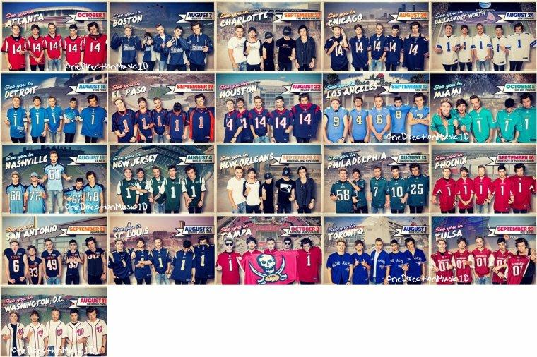 WWAT Tour Dates + Event Magazine + Harry, Liam et Zayn en dehors des studios X-Factor - 20 Novembre 2013 + Répétitions pour les AMA- 22 Novembre 2013 + American Music Awards - 22 Novembre 2013 + Harry à LA - 23 Novembre 2013 + Les boys à l'aéroport Teterboro (New Jersey) - 25 Novembre 2013 + NEWS / RUMEURS / VIDÉO ...