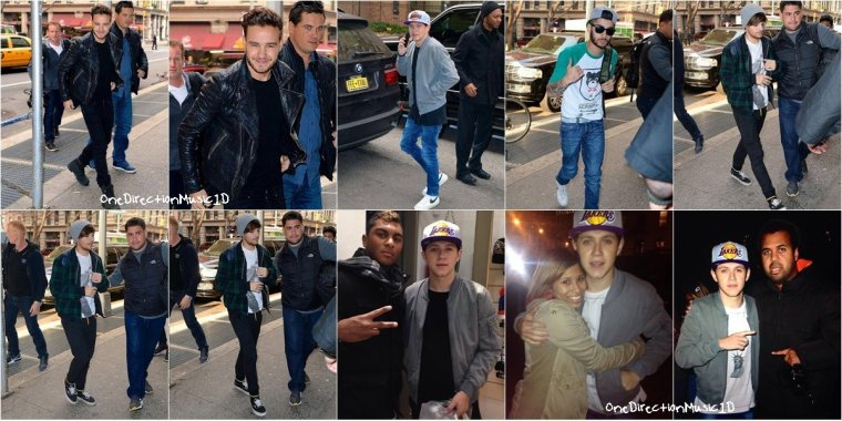 Harry au British Fashion Awards - 2 Décembre 2013 + Les boys à l'aéroport JFK - 3 Décembre 2013 + Les boys à NYC - 4 Décembre 2013 + Louis, Liam, Niall et Zayn au Stade Red Bull - 5 Décembre 2013 + Les boys (sans Harry) au bureau Marvel - 5 Décembre 2013 + Niall et Liam à un match - 6 Décembre 2013 + Harry à NYC - 6 Décembre 2013 + NEWS / RUMEURS / VIDÉO ...